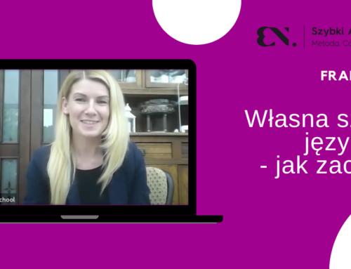 Własna szkoła językowa – jak zacząć? – rozmowa zUlą Ligas, właścicielką 3 franczyzowych  placówek SzybkiAngielski.pl