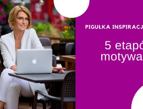 5 etapów motywacji czyli osztuce robienia siebie wkonia – PIGUŁKA INSPIRACJI #2